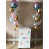Gender reveal ballonnen box