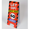Warning bord 60 jaar
