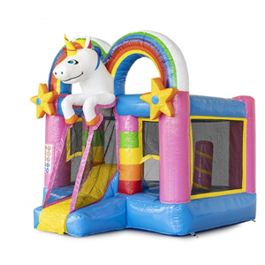 Springkussen Mini Bounce Unicorn
